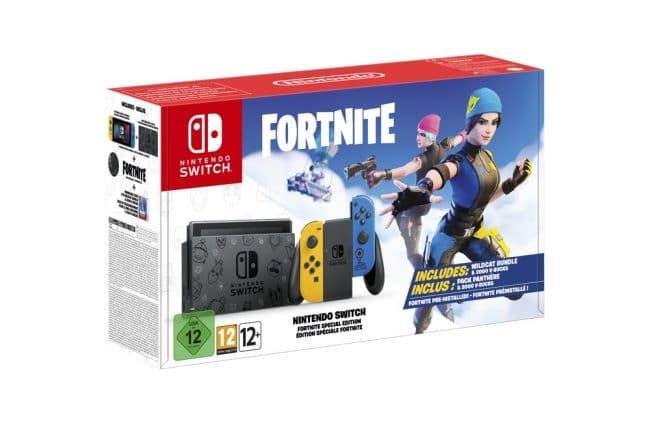 Nintendo Switch édition spéciale Fortnite