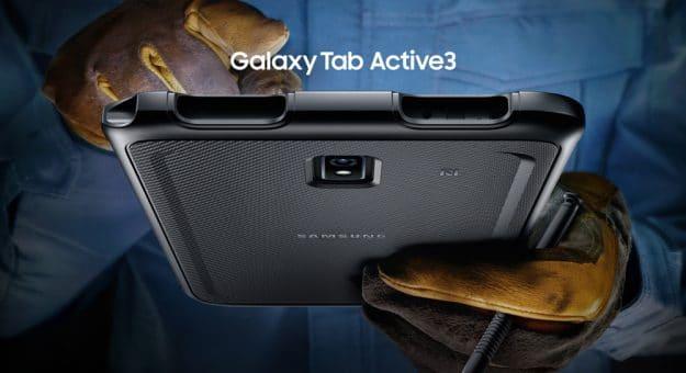 Galaxy Tab Active3 : Samsung renouvelle sa tablette pour les professionnels