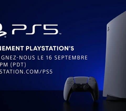 Sony va organiser un événement PlayStation 5 le 16 septembre