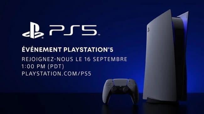 Sony événement PlayStation 5