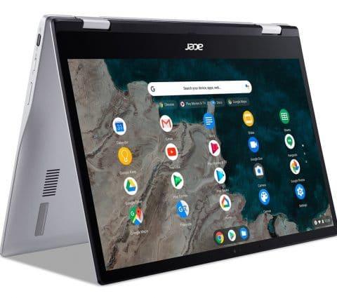 Acer Chromebook Spin 513 : deux convertibles équipés du Snapdragon 7c