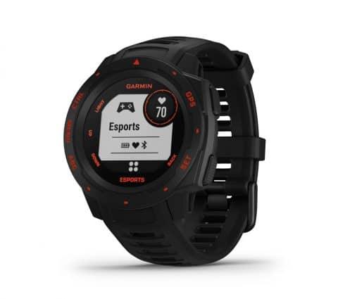 Garmin lance une montre connectée pour les gamers, l'Instinct Esports Edition