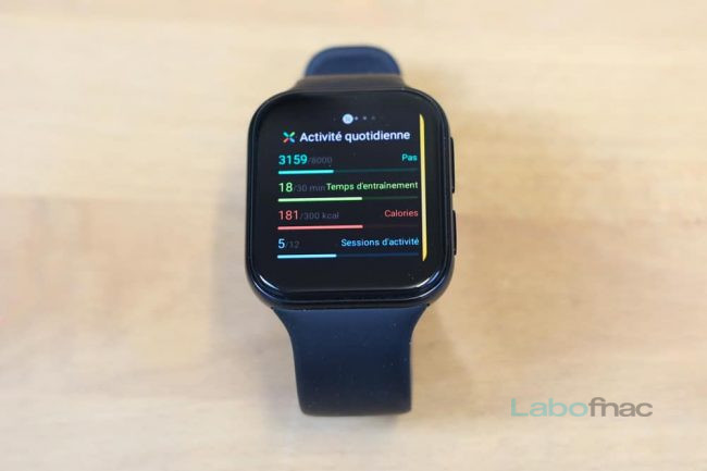 Test Oppo Watch