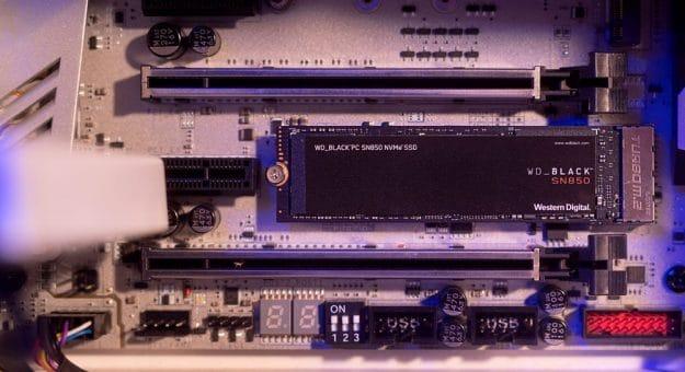 Le SSD NVMe WD_BLACK SN850