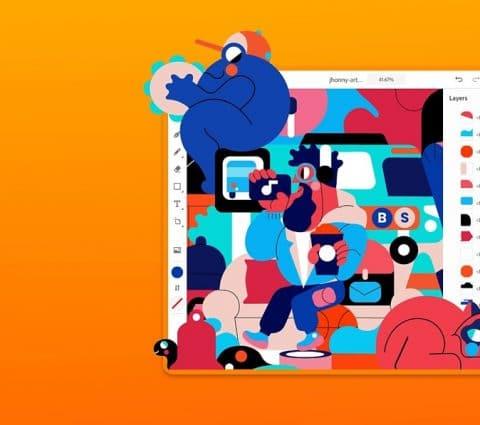 Après Photoshop, Adobe Illustrator pour iPad est maintenant disponible