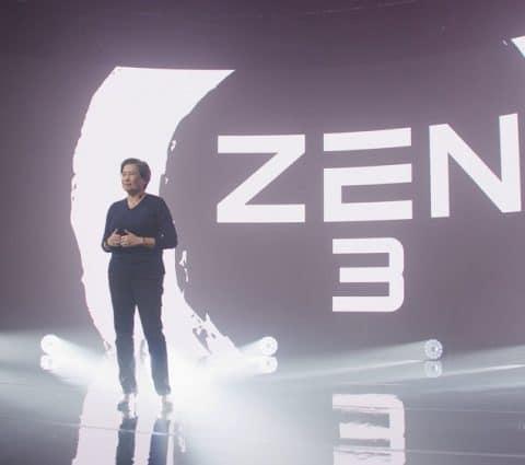 AMD présente ses processeurs Ryzen 5000 taillés pour le jeu