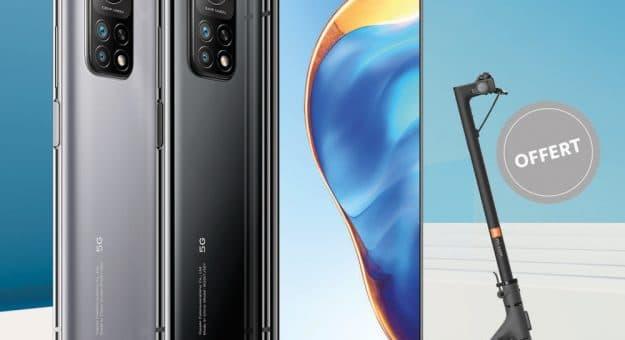 Bon Plan – Xiaomi : une trottinette électrique offerte pour l'achat d'un Mi 10T ou Mi 10T Pro