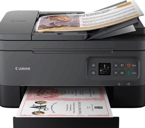 Pixma TS7450/TS7451 : Canon lance sa nouvelle imprimante multifonction