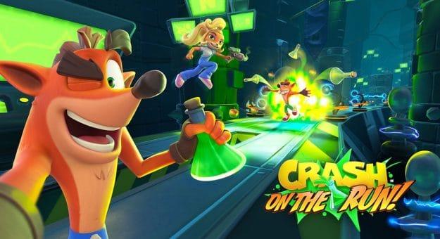 Crash Bandicoot: On the Run arrive sur iOS et Android au printemps 2021