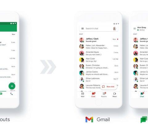 Google pousse Hangouts vers la sortie et mise sur Chat