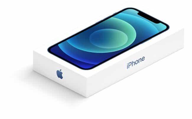 iPhone 12 boîte