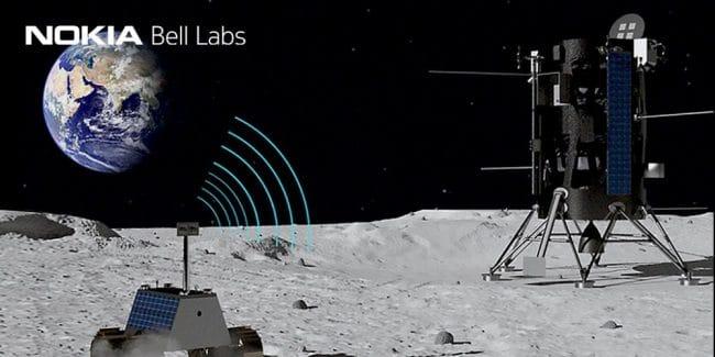 Viser la Lune, ça ne fait pas peur à Nokia © Bell Labs