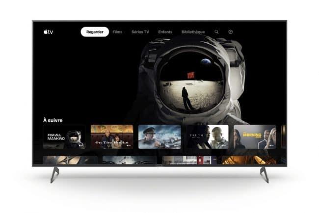 L'application Apple TV © Sony