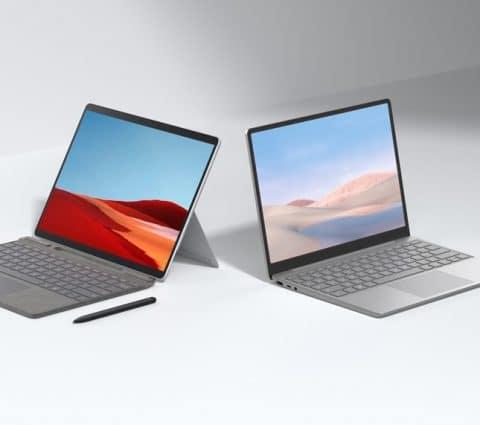 Microsoft présente le Surface Laptop Go et met à jour la Surface Pro X