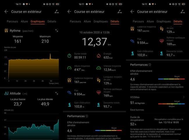 Huawei Health avec la Huawei Watch GT 2 Pro