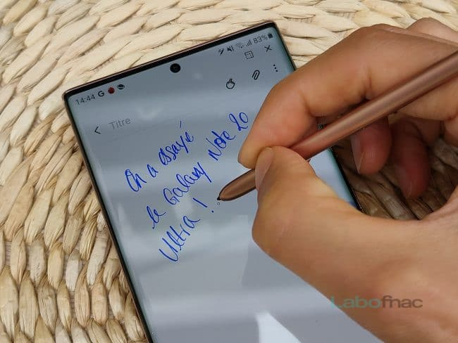Le Galaxy Note 20 Ultra sera-t-il le dernier représentant de la gamme ? © LaboFnac