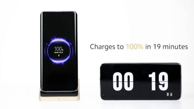 Xiaomi recharge sans-fil 80 watts