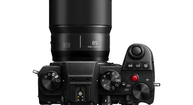 Panasonic Lumix S 85 mm F1,8 : une nouvelle optique compacte pour boîtiers plein format