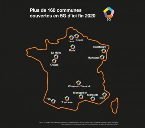 Orange lancera son réseau 5G le 3 décembre dans 15 villes françaises