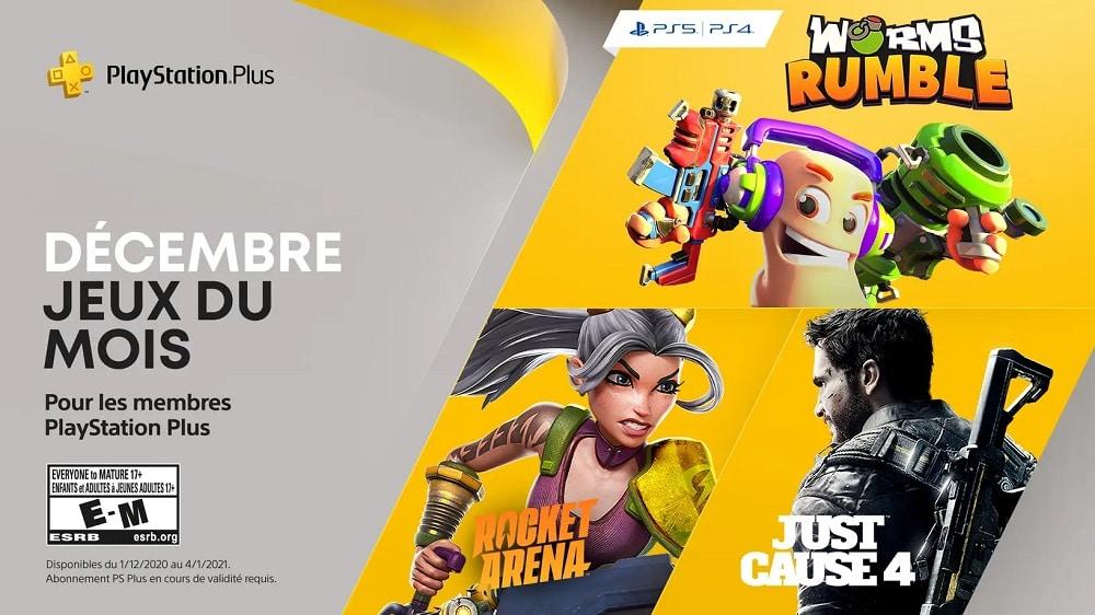 Playstation Plus Sony Devoile Les Jeux Gratuits Du Mois De Decembre 2020