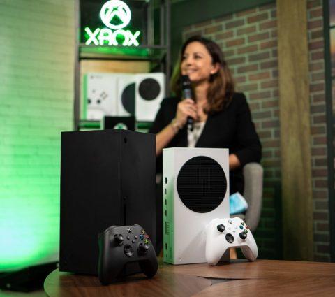 Xbox SeriesX: laconsole deMicrosoft sedote d'uneinterface en4K