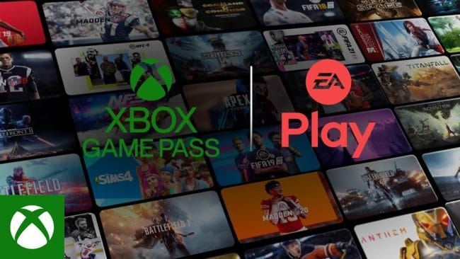 EA Play & Xbox Game Pass