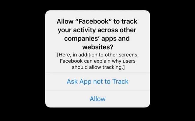 Facebook Apple iOS 14