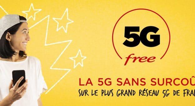 Free intègre sans surcoût la 5G à ses forfaits mobiles