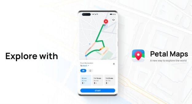 Petal Maps : Huawei lance son alternative à Google Maps sur l'AppGallery