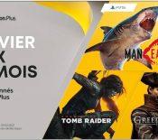 PlayStation Plus : trois jeux offerts aux abonnés en janvier