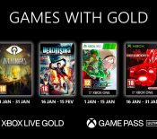 Xbox Games with Gold janvier 2021
