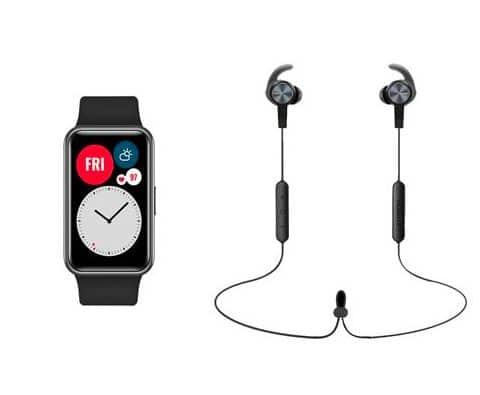 Soldes d'hiver 2021 – La montre Huawei Fit + les écouteurs AM61 à 89,99 €
