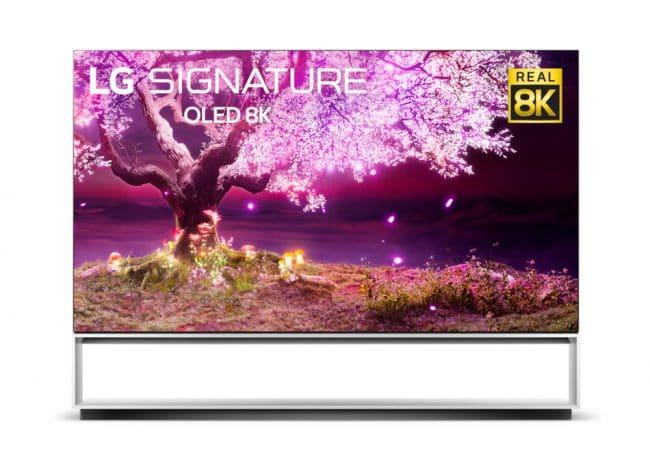 Le LG OLED Z1 8K en 88 pouces © LG