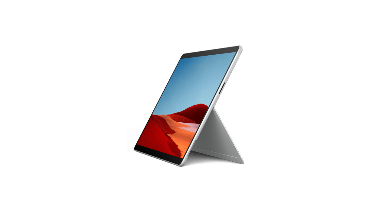 test Microsoft Surface Pro X