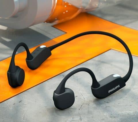 Philips A7306 et A6606 : pour les sportifs, des écouteurs avec cardiofréquencemètre ou conduction osseuse