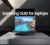 Samsung OLED PC portables