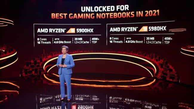 AMD Ryzen 5000HX