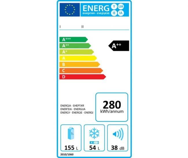 Ancienne étiquette énergie