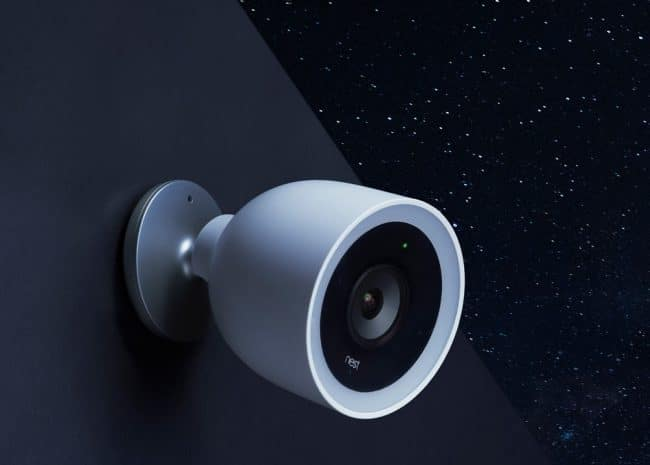 La Nest Cam IQ Outdoor © Google
