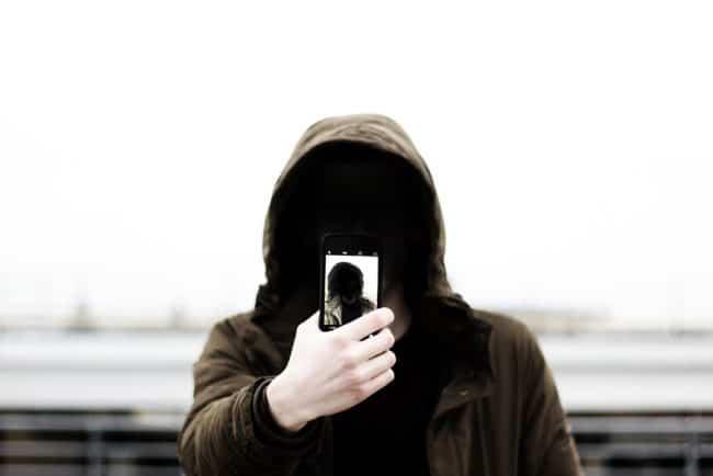Hacker selfie