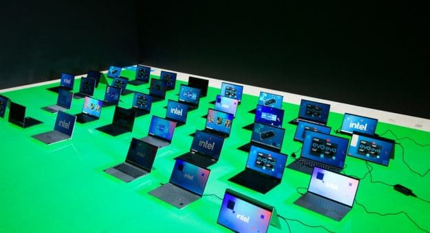 Intel PC portables