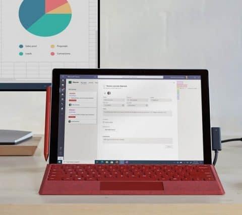 CES 2021 – Microsoft dévoile le Surface Pro 7+ pour les professionnels