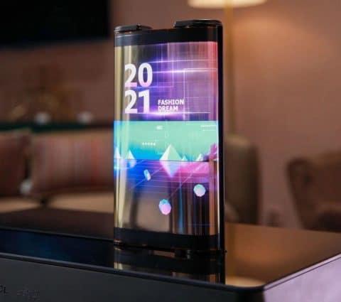 CES 2021 – TCL met le cap sur les écrans enroulables et tease un nouveau concept