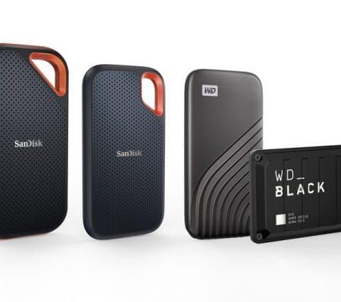 CES 2021 – Western Digital double la capacité de stockage de ses SSD externes à 4 To