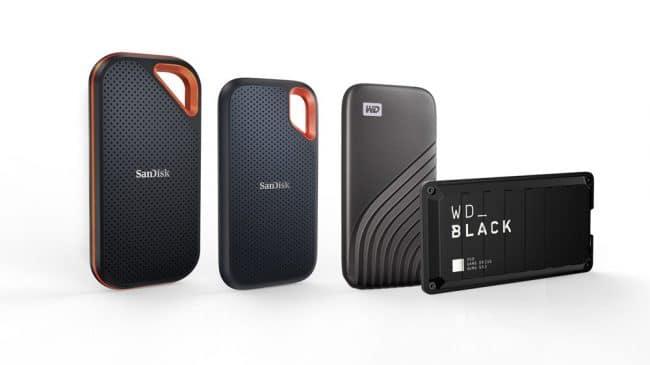 Western Digital SSD externe