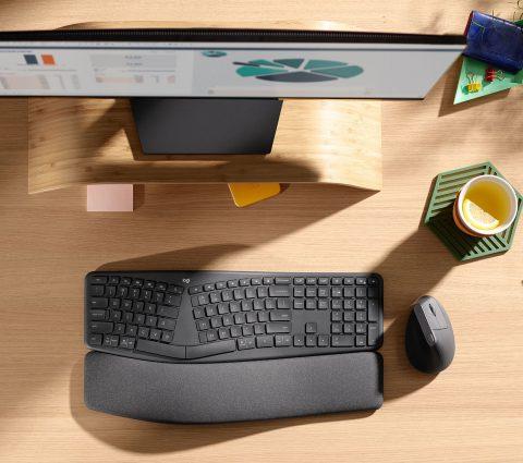 Logitech ERGO K860 : le clavier ergonomique fait ses débuts en France