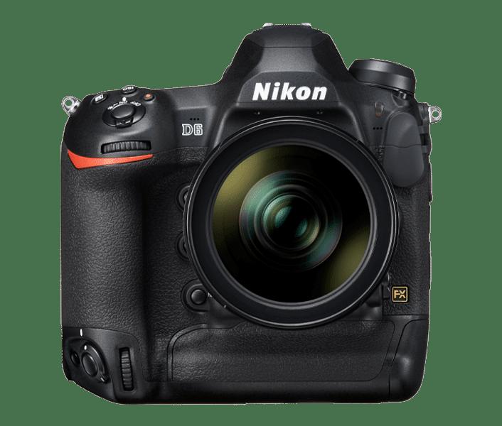 test Nikon D6