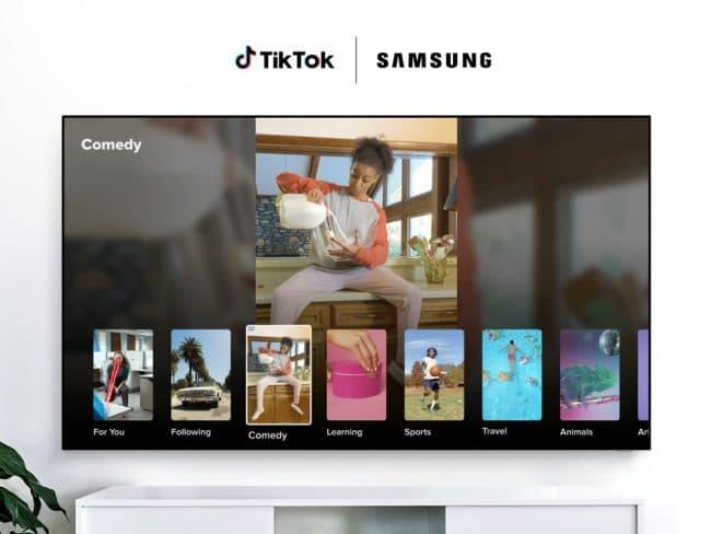 Samsung TikTok