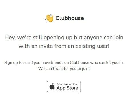 Accessible uniquement sur invitation, Clubhouse devrait changer de dimension en 2021 © Clubhouse