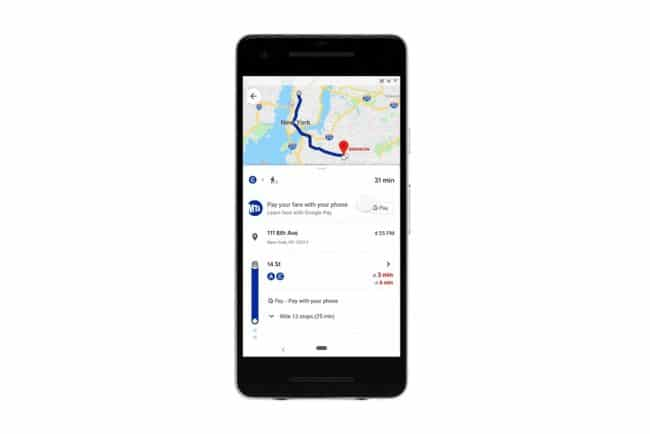 Google Maps ticket